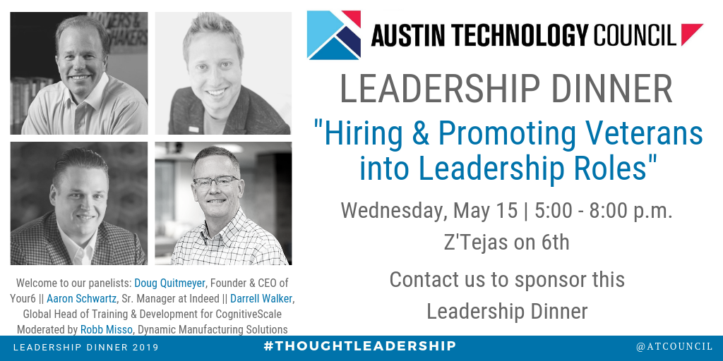 May 15 Leadership Dinner