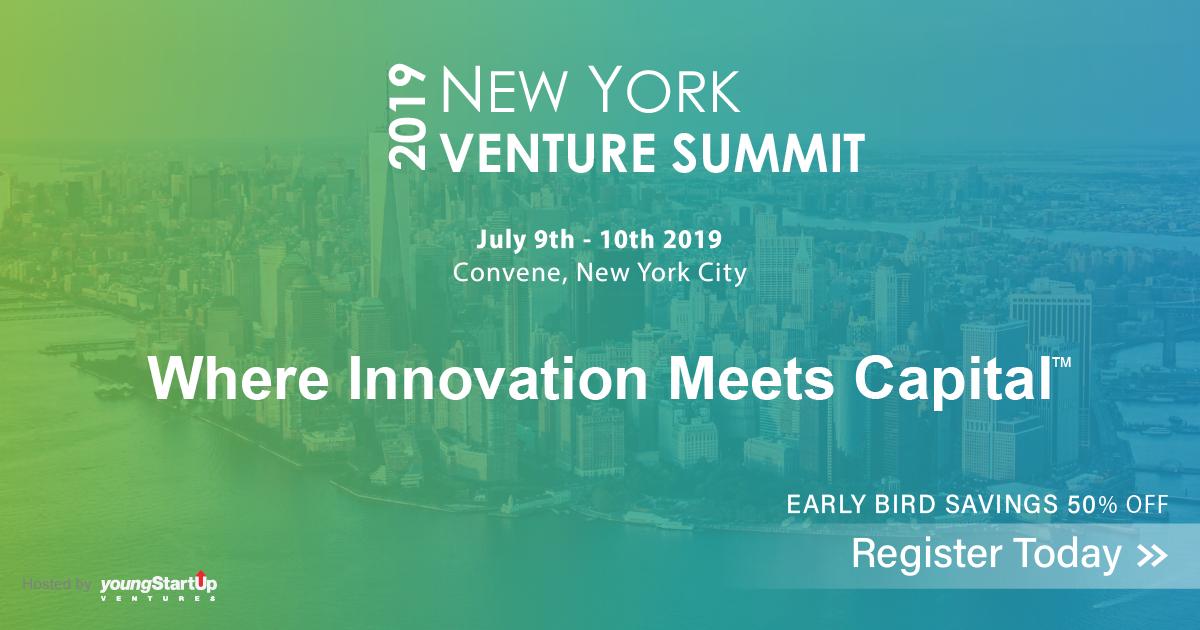 New York Venture Summit 2019