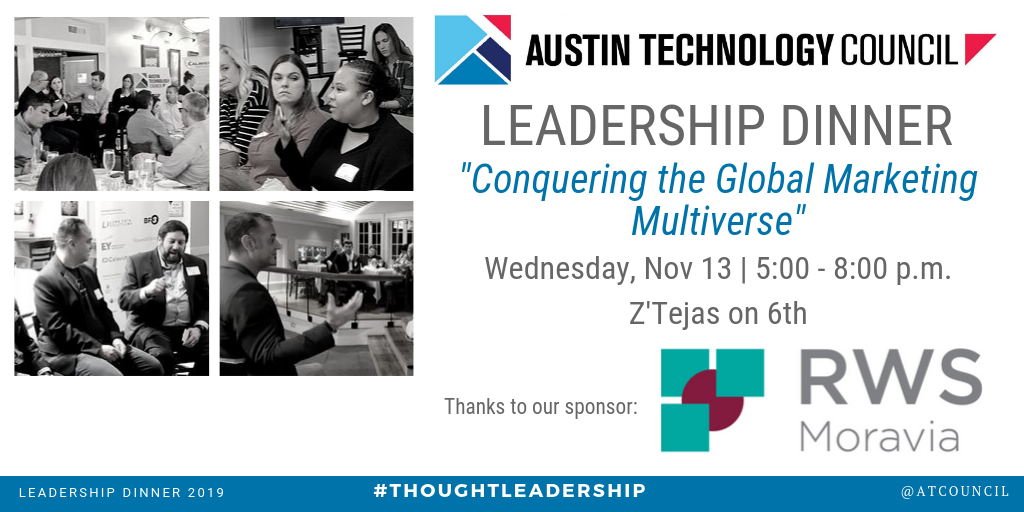 Austin Technology Council: Leadership Dinner || Nov 13