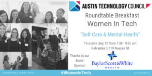 Sep 12 Women in Tech