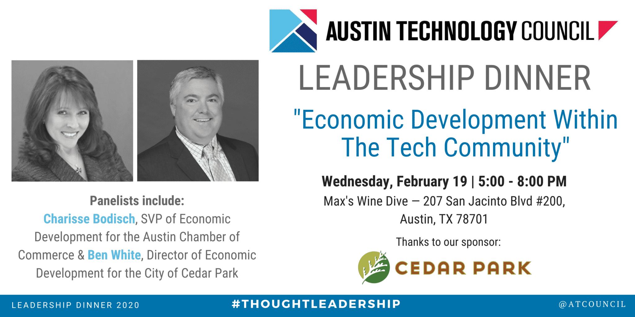 Austin Technology Council: February Leadership Dinner