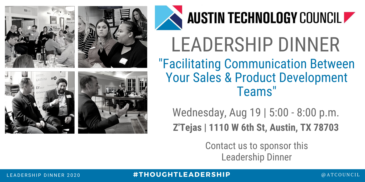 Austin Technology Council: August Leadership Dinner