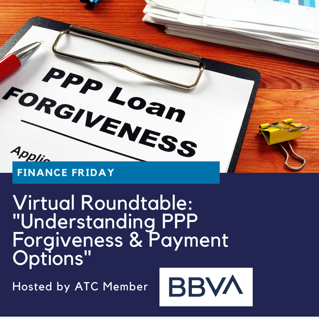 "VR: ""Understanding PPP Forgiveness & Payment Options"" w/BBVA USA"