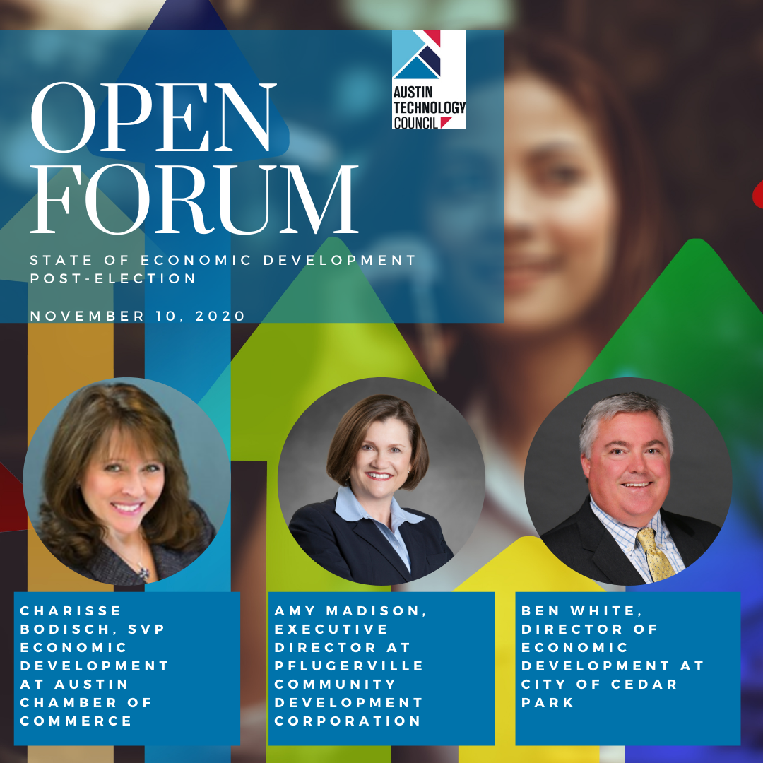 Open Forum: State of Economic Development Post-Election