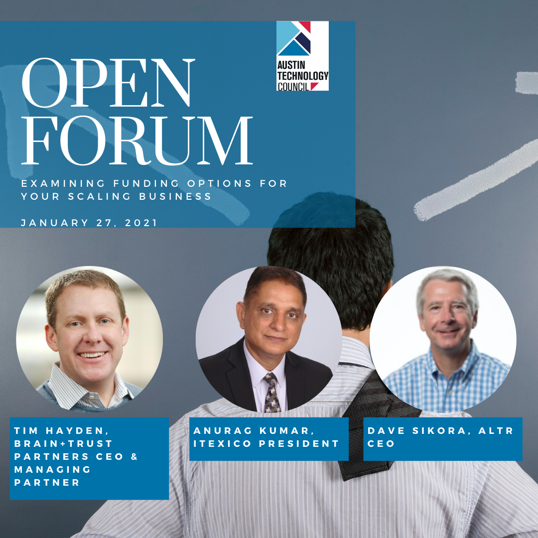 Open Forum: Examining Funding Options for Your Scaling Business